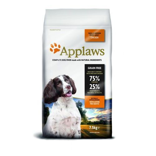 Applaws Adult Dog Small & Medium Breed Kurczak 7,5kg, 034-4575C