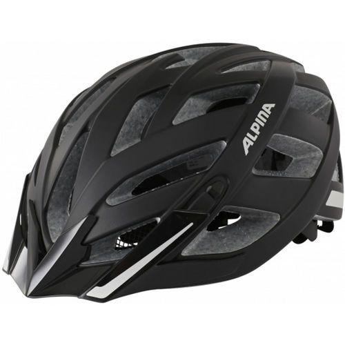 panoma city kask rowerowy czarny 52-57 cm 2018 kaski rowerowe marki Alpina