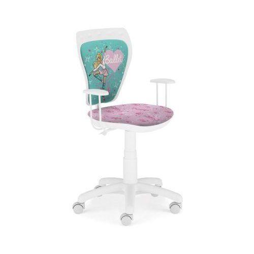 Krzesło dziecięce ministyle barbie baletnica w marki Nowy styl