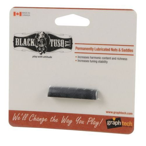 black tusq xl siodełko jumbo do gitary typu epiphone (43,84 x 8,89 x 6,10 mm, e-e: 34,54 mm) marki Graphtech