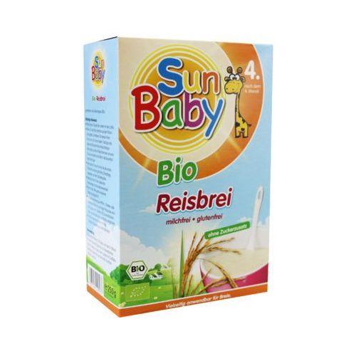 250g kaszka ryżowa bio po 4 miesiącu marki Sun baby