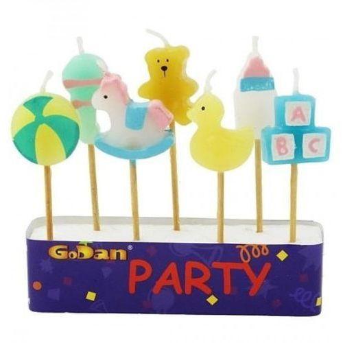 Party world Świeczki pikery zestaw dla maluchów