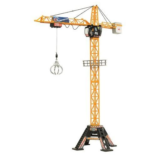 Dickie toys Dźwig mega crane 120 cm (4006333024610)
