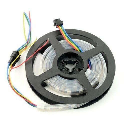 Pasek LED RGB SJ-10060-APA102C - cyfrowy, adresowany - IP65 60 LED/m, 18W/m, 5V - 1m