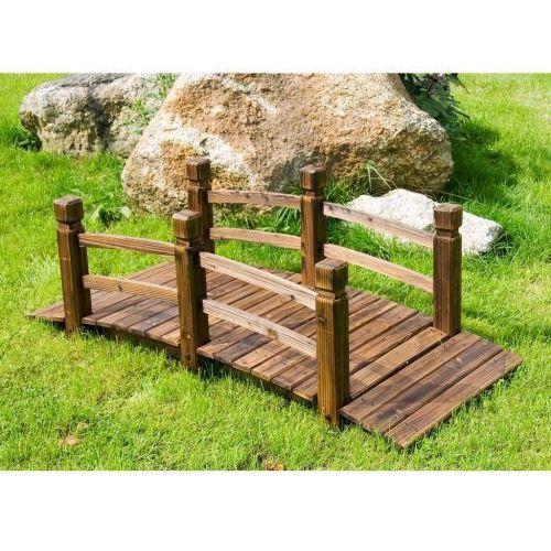 Makstor.pl Most na ogród mostek ogrodowy z drewna kładka (30050043)
