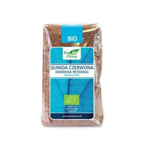 Quinoa czerwona (komosa ryżowa) bio 500 g - bio planet marki Bio planet - seria niebieska (ryże, kasze, ziarna)