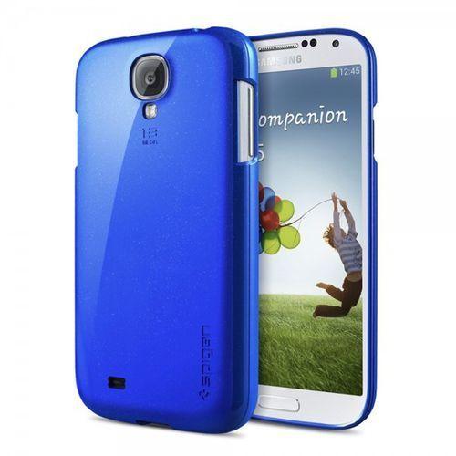 Etui SPIGEN SGP10250 do Galaxy S4 Niebieski, kolor niebieski
