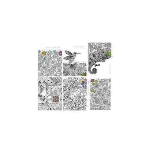 Brulion A5/96K kratka 1091 Secret Garden (5szt), 5905184919320 (5595503)