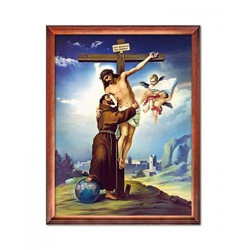 Obraz jezus chrystus i św. franciszek z asyżu marki Produkt polski
