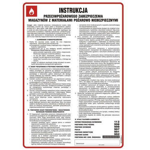 Instrukcja przeciwpożarowego zabezpieczenia magazynów z materiałami pożarowo niebezpiecznymi marki Top design. Najniższe ceny, najlepsze promocje w sklepach, opinie.