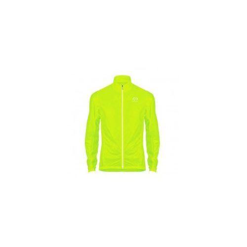 Przeciwdeszczowa lekka kurtka rowerowa - hi-viz rain jacket marki Primal