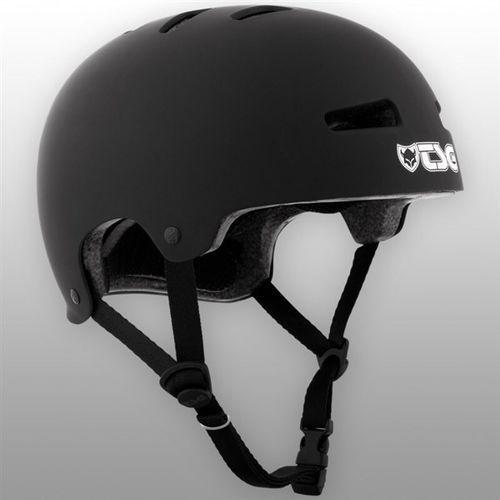 kask TSG - Evolution Youth Solid Colors Flat Black (130) rozmiar: XXS/XS