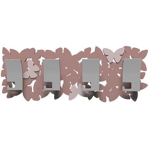 Wieszak ścienny butterflies pochmurny róż (50-13-3-33) marki Calleadesign