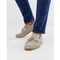 River island loafer with tassel in grey - grey