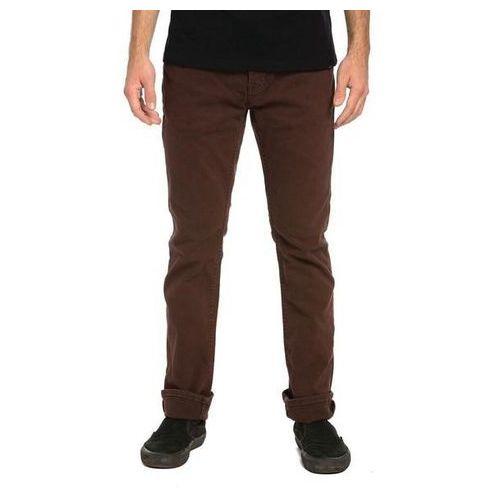 Krew Spodnie - k slim denim pant oxblood od (608) rozmiar: 32