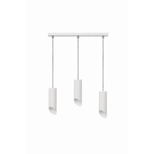 Lampex Lampa wisząca skos 3l biała (5902622113333)