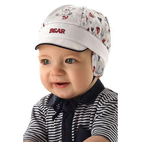 Marika Czapka niemowlęca z daszkiem 5x34bv