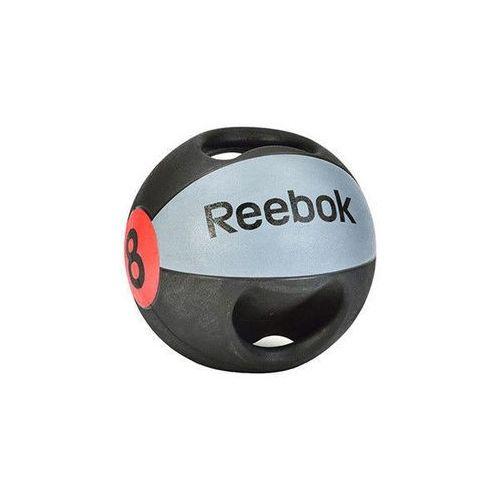 Piłka lekarska z uchwytem Reebok 8 kg - 8 kg (5055436104797)
