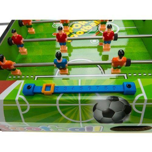 Kindersafe Gra piłkarzyki stołowe - 18 zawodników + 2 piłki 3623