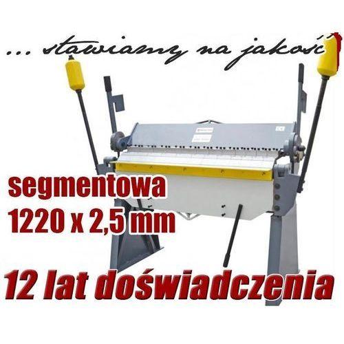 Maktek Zaginarka giętarka segmentowa do blachy 1220mm x 2.5mm ewimax