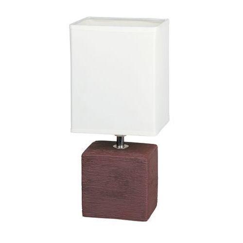Lampa stołowa lampka Rabalux Orlando 1x40W E14 wenge 4928