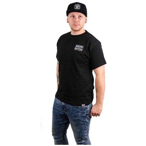 koszulka SNOWBITCH - O.G. Logo Black (BLACK), kolor czarny