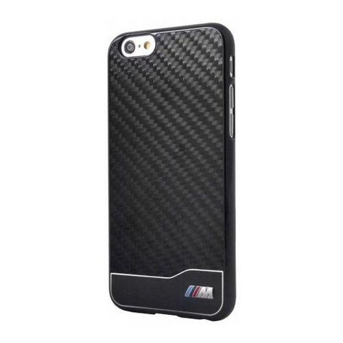 Oryginalna obudowa BMW M Collection Carbon Aluminium Case - czarna - iPhone 6, kolor czarny