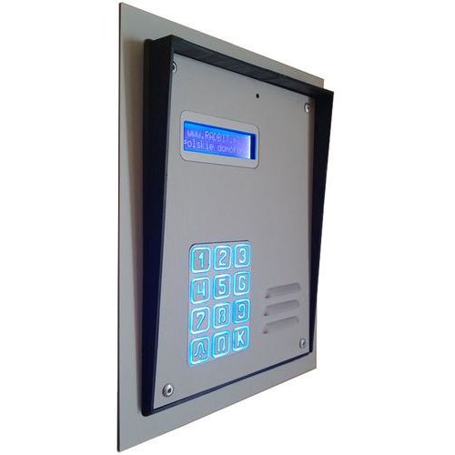 Radbit Panel domofonowy cyfrowy wielorodzinny z szyfratorem kec-4 al mod