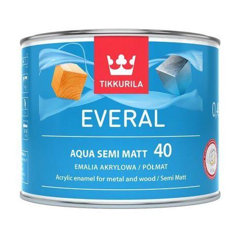 everal aqua semi matt 40- farba do drewna i metalu, baza a, 0.45 l marki Tikkurila