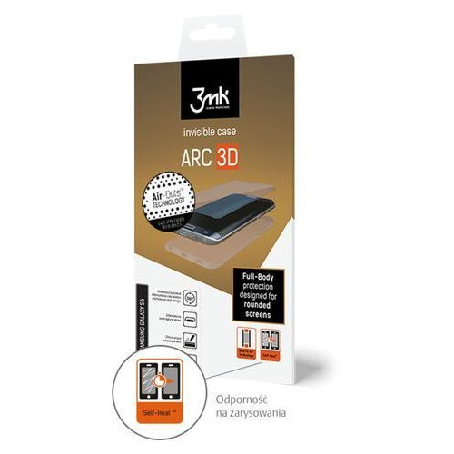3mk ARC 3D do Samsung Galaxy S6 Edge - niewidoczne etui na cały telefon - ponad 2000 punktów odbioru w całej Polsce! Szybka dostawa! Atrakcyjne raty! Dostawa w 2h - Warszawa Poznań, F3MKARCSAMGS6EDGE3D