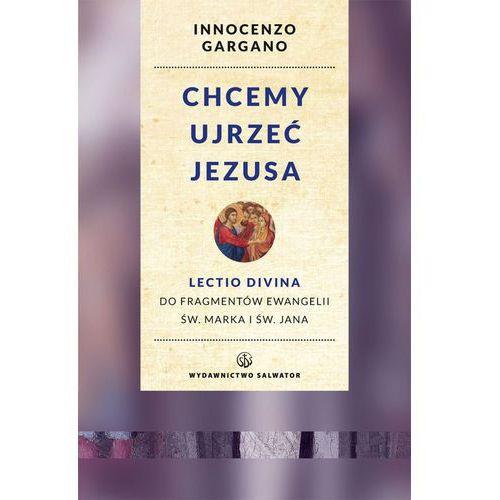 Chcemy ujrzeć Jezusa. Lectio divina do fragmentów Ewangelii św. Marka i Jana (9788375803907)