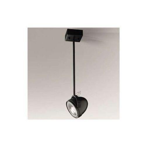 Spot lampa sufitowa mutsu 2247/g53/cz natynkowa oprawa reflektorowa czarna marki Shilo