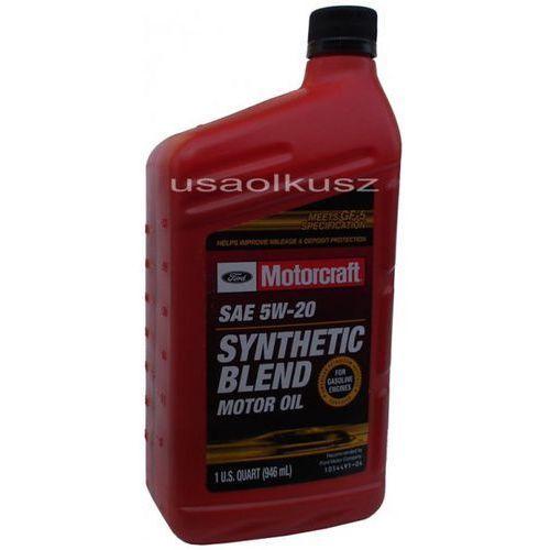 Syntetyczny olej silnikowy 5w20 1l ford marki Motorcraft
