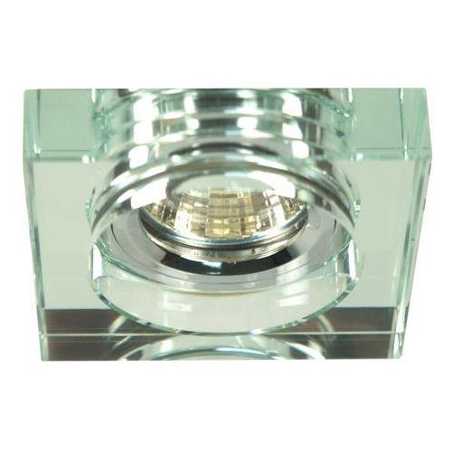 Candellux Oprawa sufitowa oczko halogenowe ss-16 1x50w mr16 chrom, szkło bezbarwne 2244368