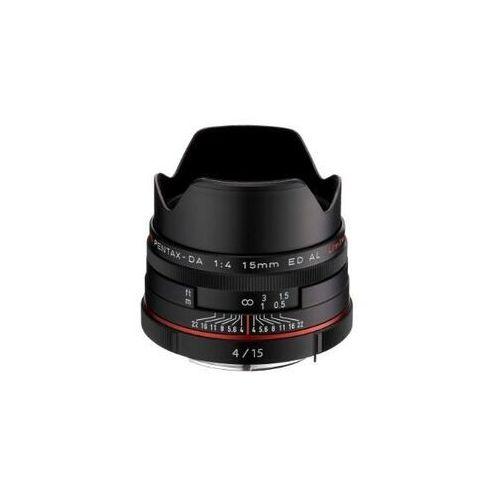 Pentax  hd da 15mm f/4 ed al limited (czarny) - produkt w magazynie - szybka wysyłka!