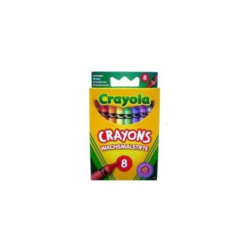 Kredki świecowe 8 sztuk marki Crayola