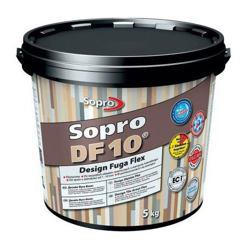 Fuga szeroka Sopro Flex DF10 Design 59 brąz bali 5 kg, 1059/5