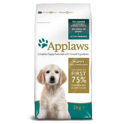 puppy small & medium breed, kurczak - 2 x 15 kg | dostawa gratis! marki Applaws