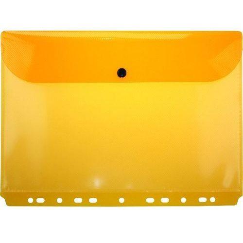 Teczka kopertowa a4 z europerforacją zp045a pomarańczowa - x02470 marki Grand