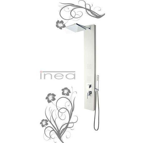 Panel prysznicowy biały IN-8708W