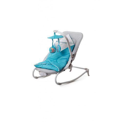 Leżaczek felio 3 funkcje niebieski + darmowy transport! marki Kinderkraft