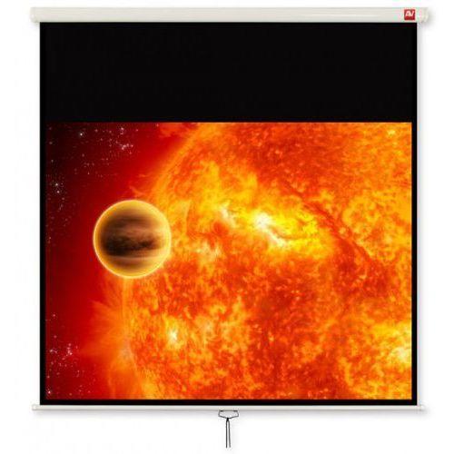 Ekran ścienny ręcznie rozwijany w obudowie Standard AVTek Video 175, 91