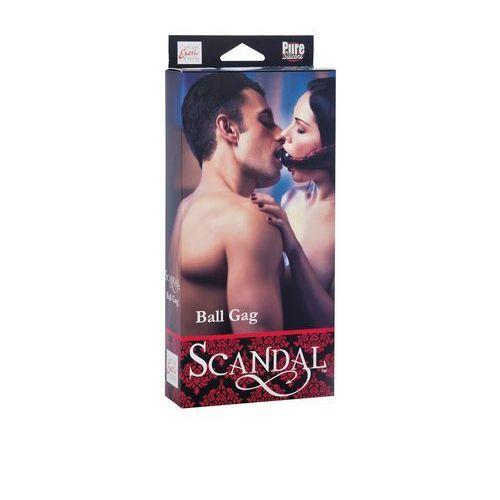 Elegancki silikonowy knebel z kulką marki Scandal (usa)