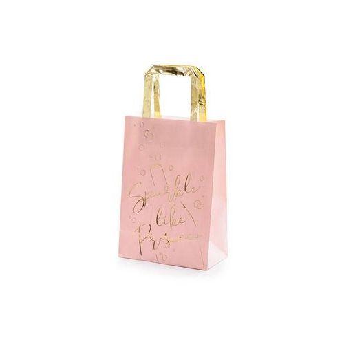 Prezentowe torebki Prosecco jasnoróżowe - 6 szt. (5900779115460)