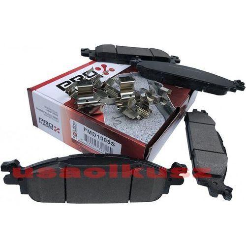 Pro fusion Klocki hamulcowe przednie z zestawem montażowym lincoln mks 2011-