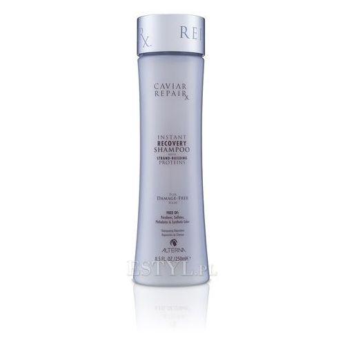 caviar repair rx instant recovery shampoo | szampon do włosów zniszczonych - 250ml marki Alterna