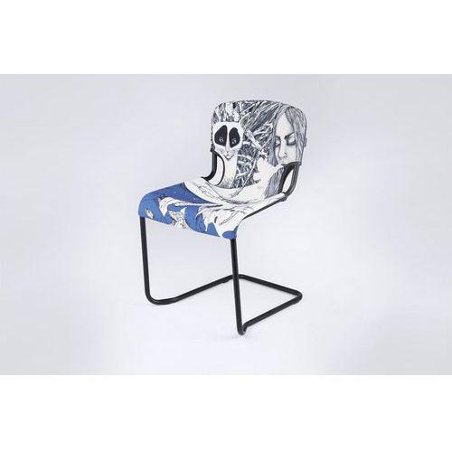 krzesło d-light obicie zaprojektowane przez trevi francesca landi shl d-light trevi marki Kubikoff