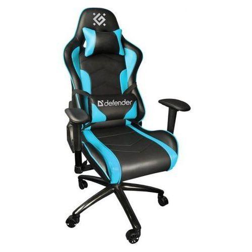 Defender Fotel dla gracza Defender INTERCEPTOR CM-363 czarno-niebieski