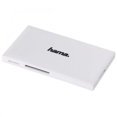 Czytnik kart pamięci HAMA USB 3.1 (gen 1) SD/microSD/CF/MS Biały 181017