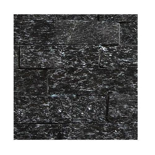 STEGU KAMIEŃ NATURALNY PŁYTKA NERO 40x10CM OPK. 0,43M2